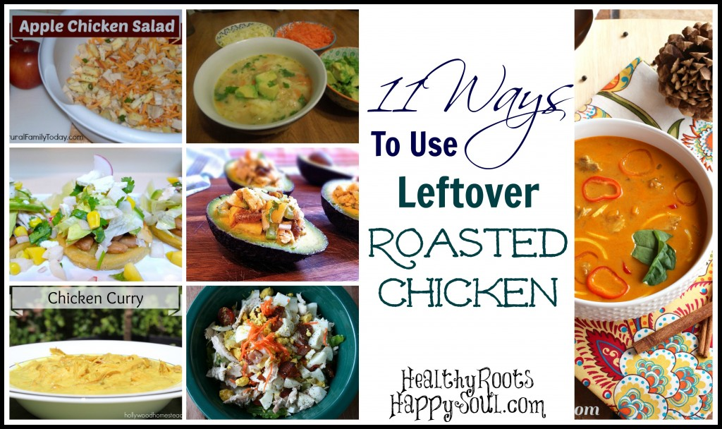 leftover chicken recipe