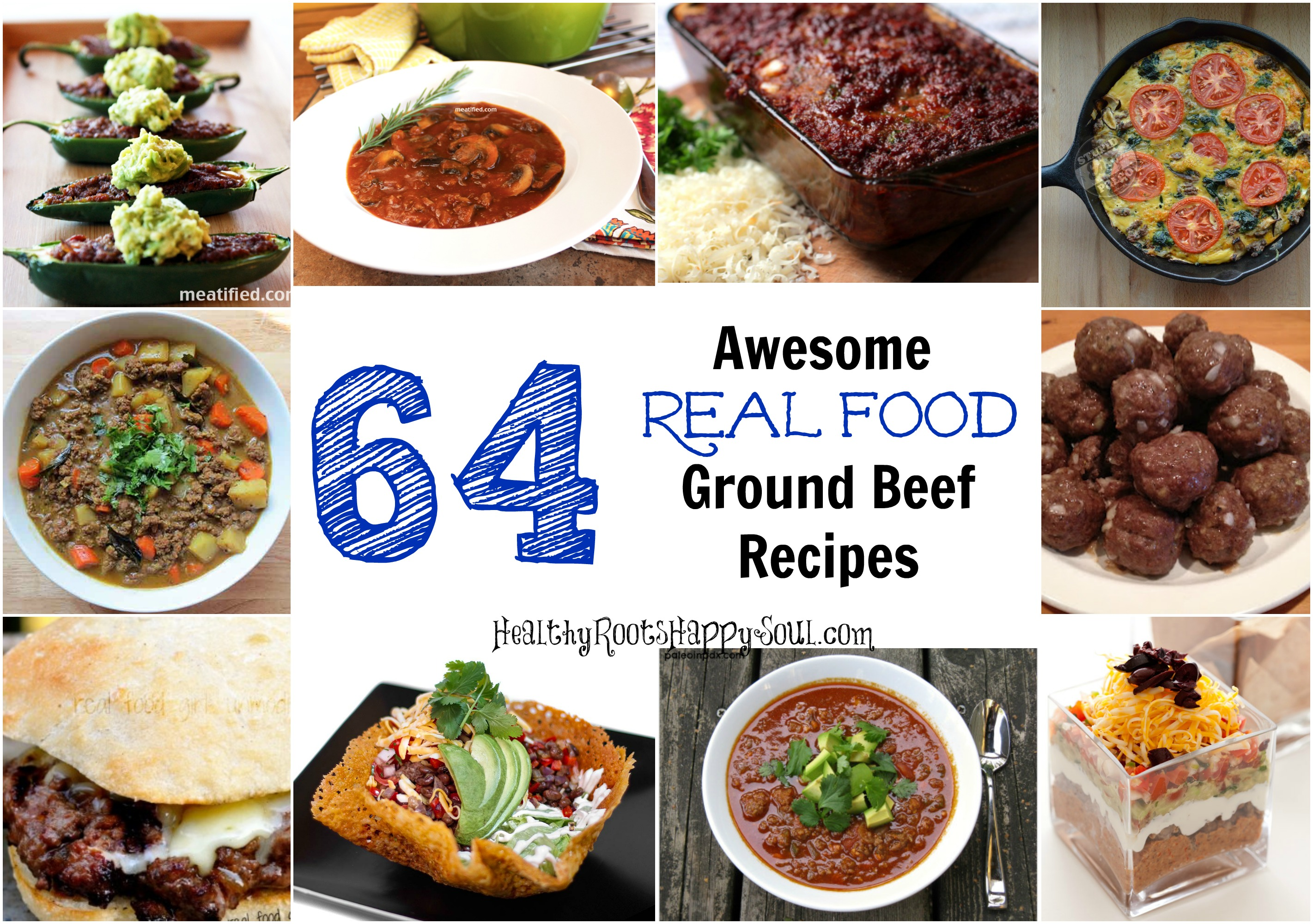 Naturally loriel 64 awesome real food ground beef recipes 64 ground beef recipes forumfinder Gallery