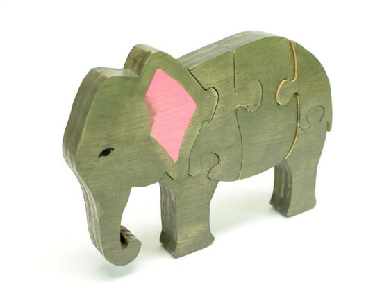 3D elephant puzzle. What a fun stocking stuffer gift!