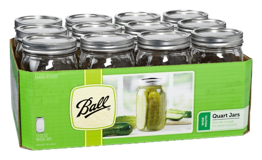 Ball jars deserve a place in every crunchy person's home!