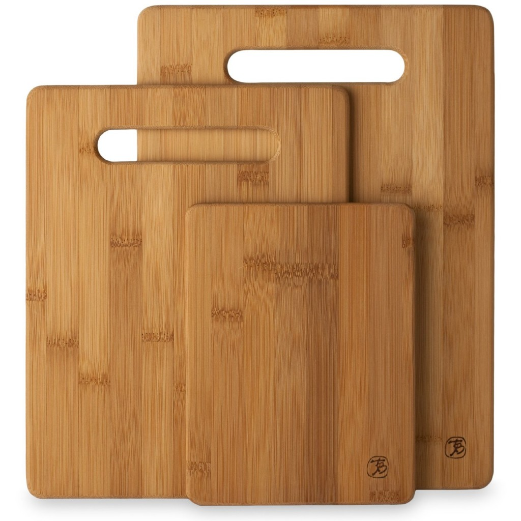 Bamboo cutting boards do NOT harbor bacterial growth like you may think! I love my bamboo cutting boards!