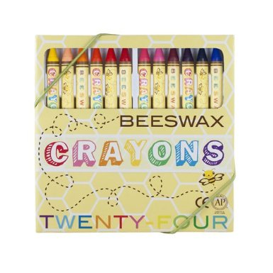 A great stocking stuffer gift -- all natural beeswax crayons!
