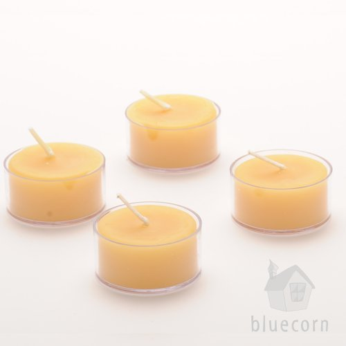 Give the gift of warmth and purity with beeswax tea light candles (& they make great stocking stuffers!)