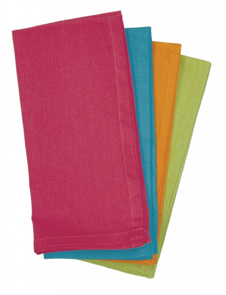 Cloth napkins make great stocking stuffers!