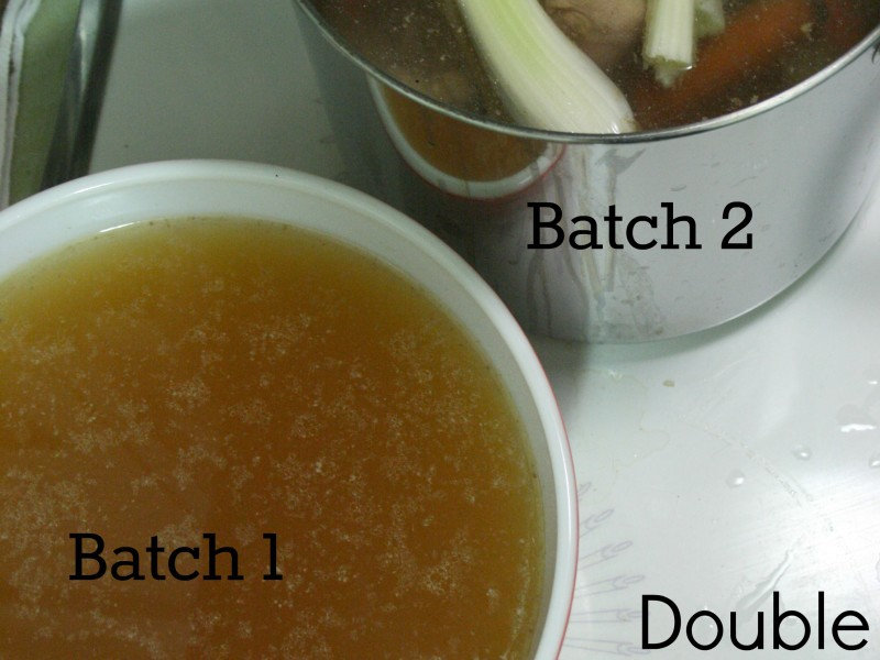 double batch broth