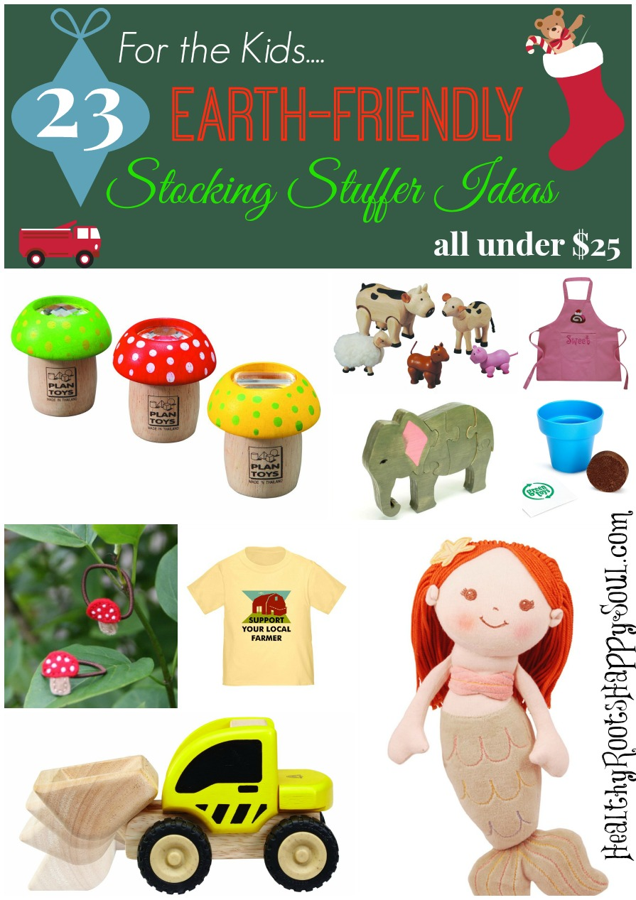 earth friendly kids stocking stuffers