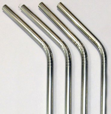 The perfect stocking stuffer for crunchy people: stainless steel straws