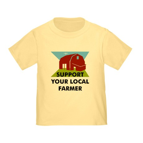 Have your little one show their support for their local farmers!