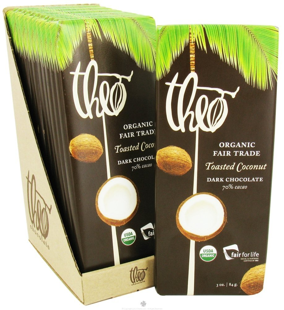 Soy-free, GMO-free chocolate with toasted coconut. Yes. Please.