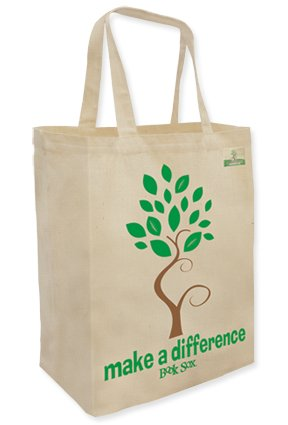 Tote bags are an inexpensive gift and can be easily stuffed into stockings!