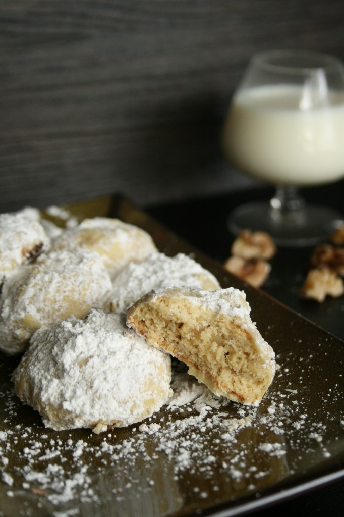 Real Food Russian Tea Cakes Made with Einkorn Flour & Soaked Walnuts