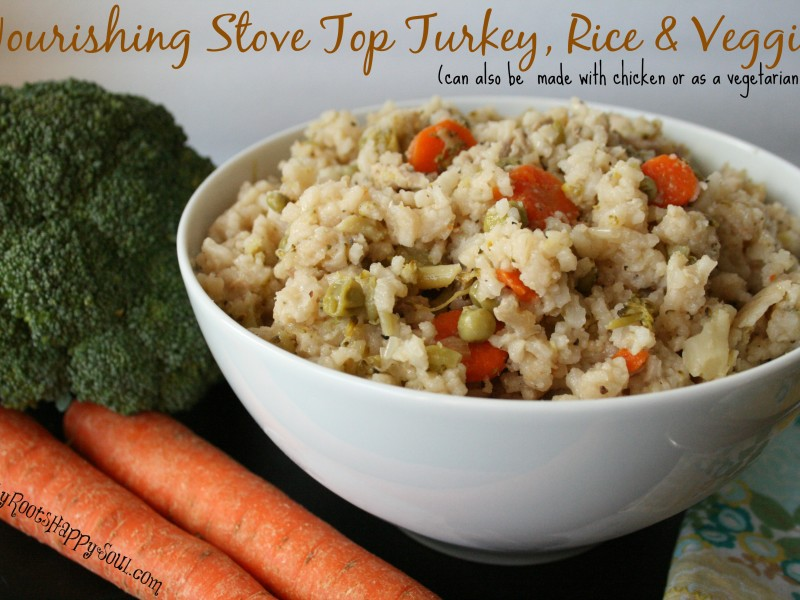 Stove Top Turkey & Rice