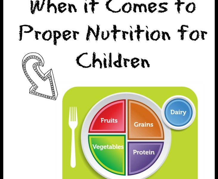 they've got it all wrong when it comes to proper nutrition for children
