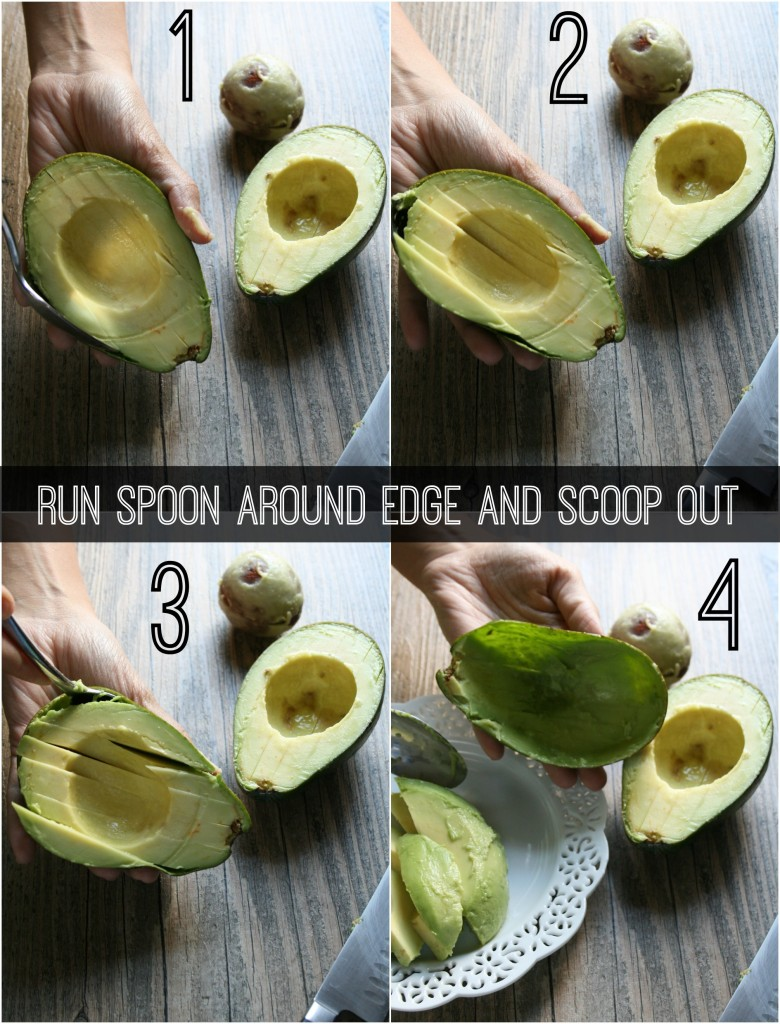 The best way to cut an avocado!