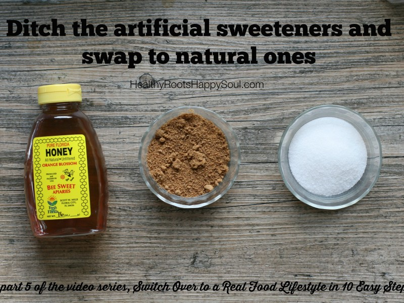 Swap Out Your Sweeteners