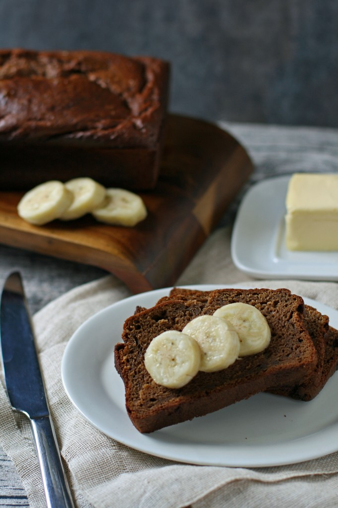 The best banana bread you've ever tasted and it's all been made in a blender!