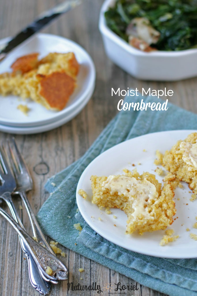 Moist Maple Cornbread