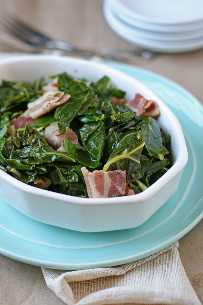 Greens can have a weird flavor if they aren't cooked right. With a few simple ingredients, you can cook collards that actually taste really good.
