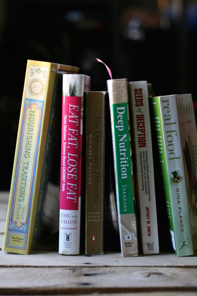 Books can seriously transform your life! Here are my 6 favorite must read, life-changing books on real food. Which ones have you read?