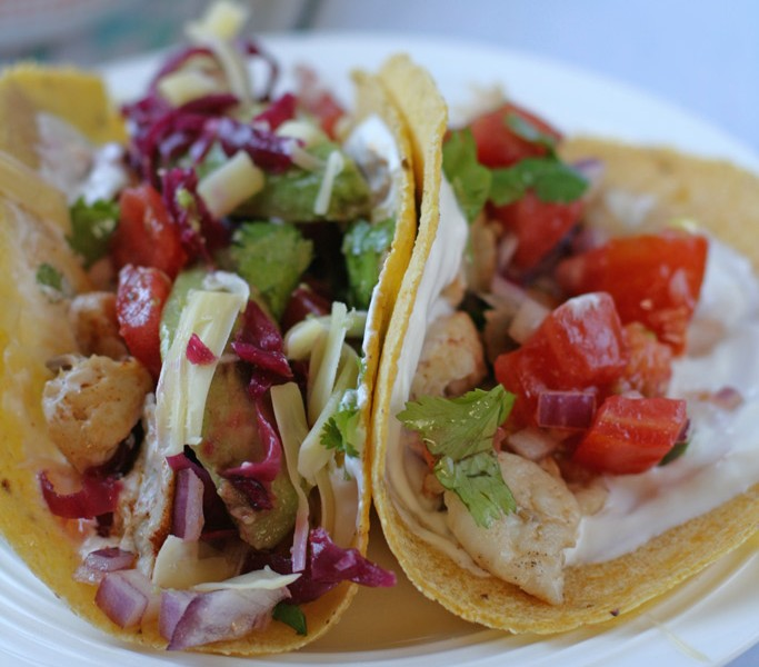 If you want an easy, light, fresh meal, you are definitely going to want to try this super fresh and light fish tacos recipe. The flavors go great for Cinco De Mayo!