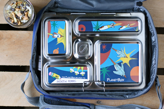Having the proper school lunch gear can make or break the success of kids eating their lunch. Here's a lunchbox I'm excited about + a nut-free seed snack recipe!