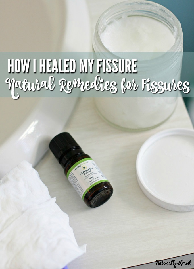 Find natural remedies for fissures that actually worked (I'm healed!); as well as important information regarding how gut health can affect your ability to heal a fissure plus natural supplements to aid in softer stool.