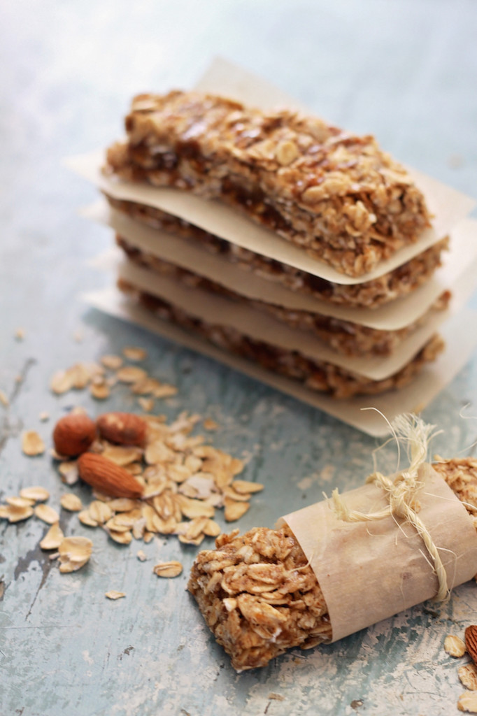 no bake granola bars vertical