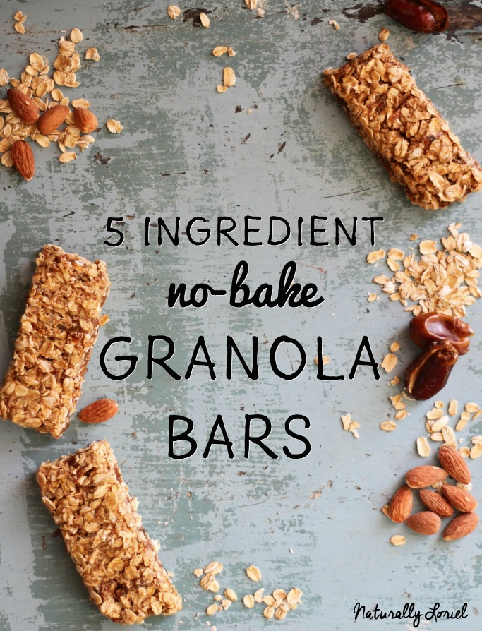 no bake granola bars are easy to make!