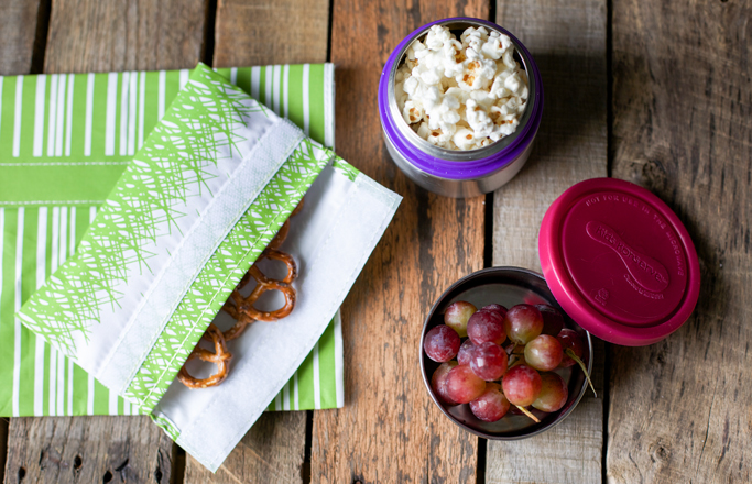reusable snack containers waste free lunch