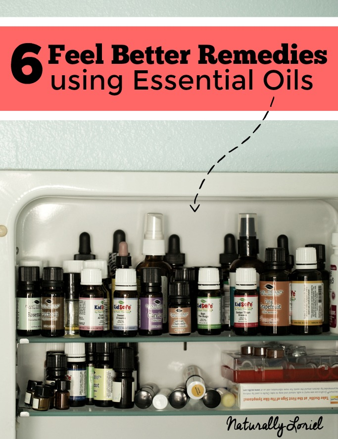 Be prepared with these feel better remedies using essential oils!