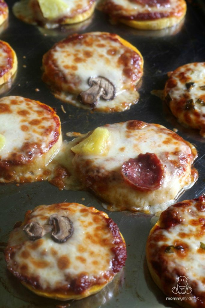 how to use butternut squash - mini pizzas