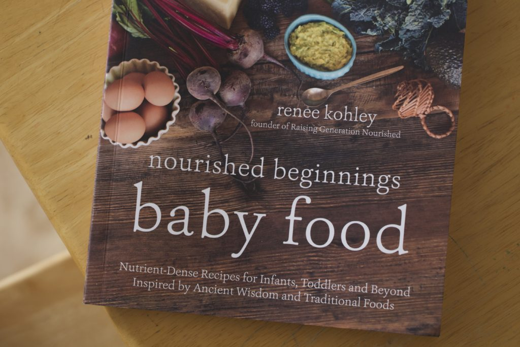 nourished beginnings baby food cookbook