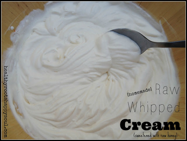 Homemade whipped cream is so easy and tastes a million times better than it's store bought version!